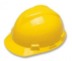 Capacete  Amarelo-  CA MSA